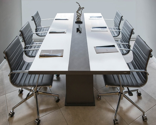 White Meeting Table