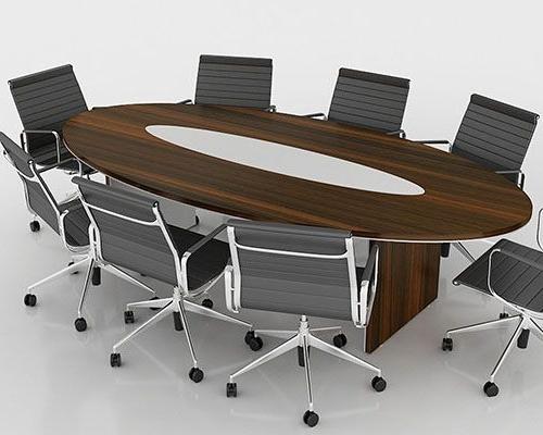 Ellipse Meeting Table