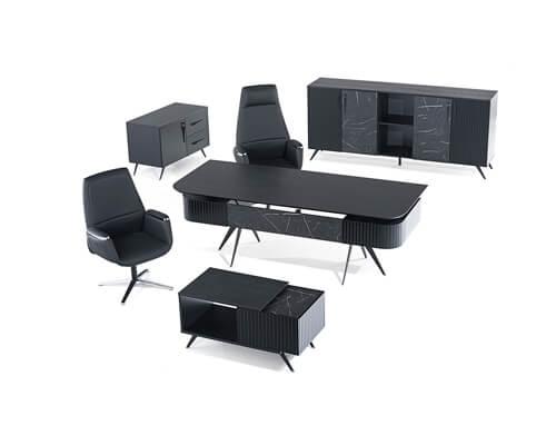 Mozart Black Executive Set