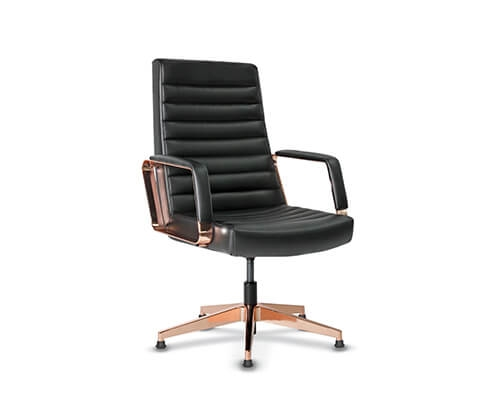 Rose Copper Guest Chair