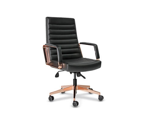 Rose Copper Meeting Chair